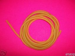 """4 FOOT OF 1/4"""" I.D x 1/32"""" wall Latex Surgical Rubber Tubing"""