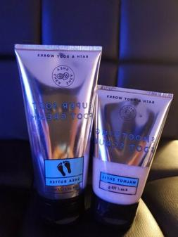 Bath And Body Works 2-Piece Foot Care Set Foot Cream & Foot