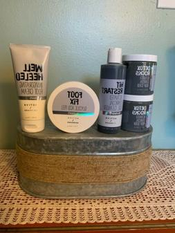Bath & Body Works Lot 5 Activates Charcoal Foot Fix Well Hee