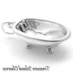 claw foot bathtub 3d 925 solid sterling