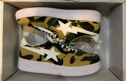 DS Bape Sta Foot Soldoer Low Camo Canvas A Bathing Ape Air F