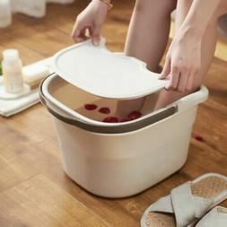 Portable Foot Bath Spa Massage Bucket Washing Basins With Co