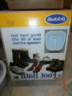 Foot Bath Massager Dr. Scholl's NEW