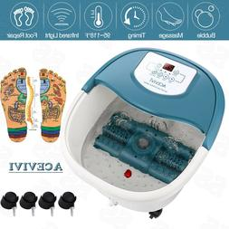 Foot Spa Bath Massager Automatic Foot Massage Rollers Electr
