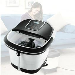 foot spa bath massager led touch screen