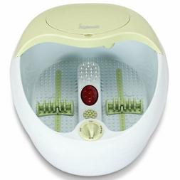 Foot Spa Bath Massager Parent Vibration Red Light Rollers wi