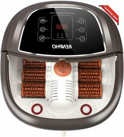 RENPHO Foot Spa Bath Massager with Fast Heating, Automatic M