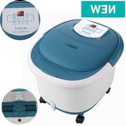 foot spa bath massager with heat electric