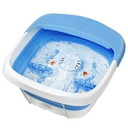 Foot Spa Foldable Bath Motorized Relax Massager Bubble Stres