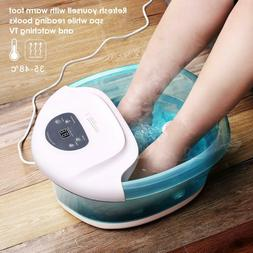 Foot Spa Foot Bath Massager with Heat and Massage Vibration