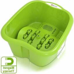 foot spa massager w magnetic therapy cold