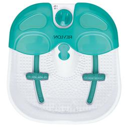 Foot Spa Bath Massager With Heat Bubble Vibration, Portable