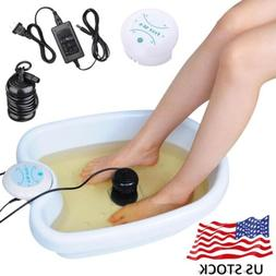 Ionic Detox Foot Bath Machine Array Cell Cleanse Home Beauty