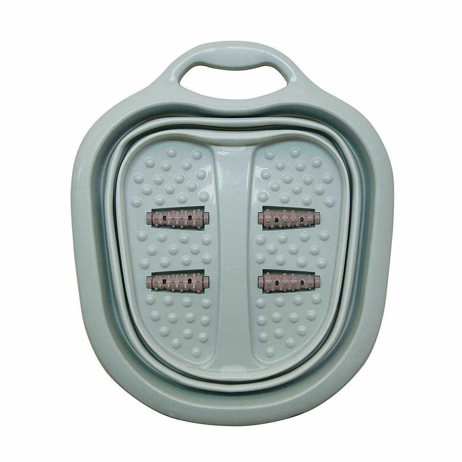Collapsible Spa Foot Rollers Tub