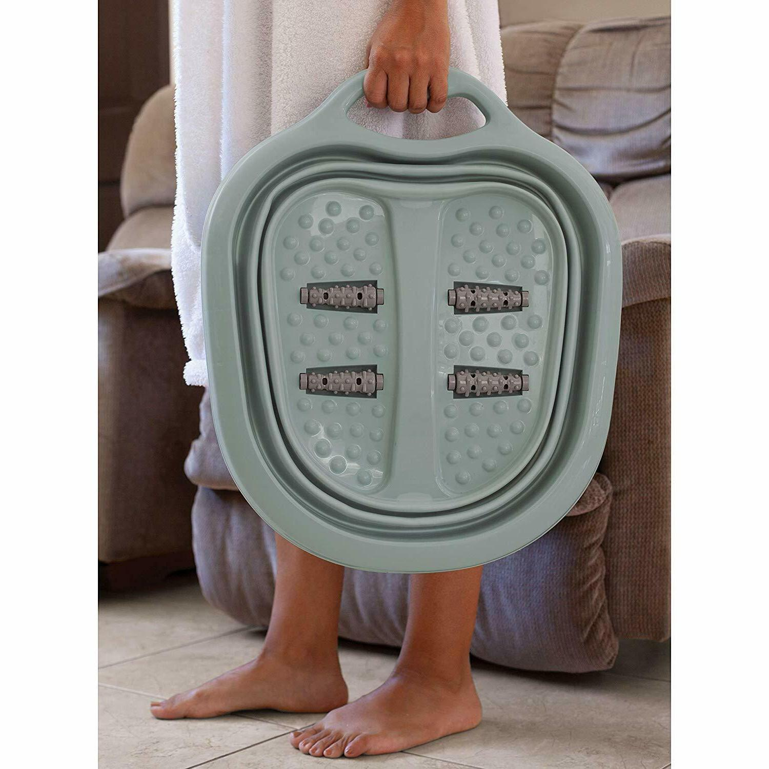 Collapsible Foot Pedicure Tub Kit