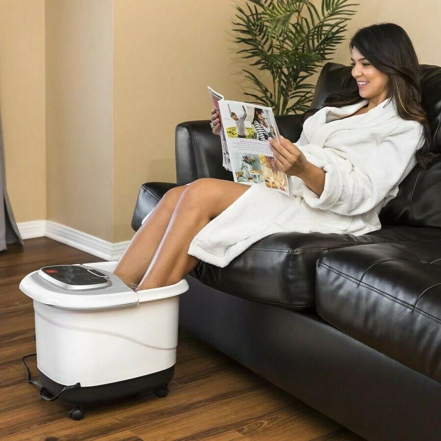 Foot Spa Portable Relaxation Roller Soaker Tub