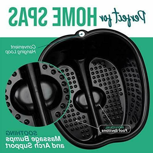 Foot Soaking – Large Size Soaking and Massager