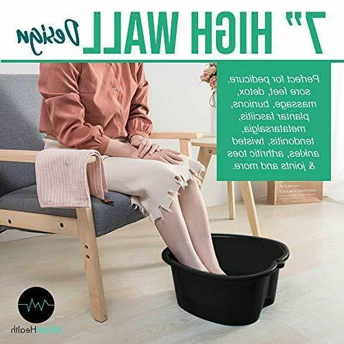 Foot – Large Soaking Feet | and Massager