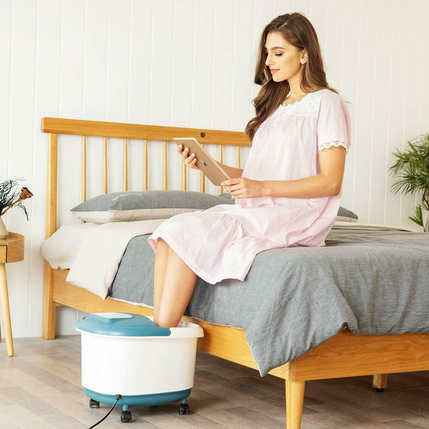 Home Use Foot Bath LED Display Infrared Timer,USA