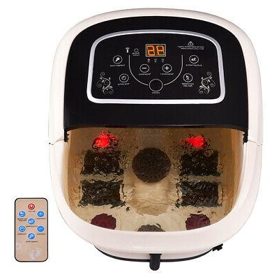 foot spa bath massager tem time set