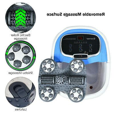 Foot Spa Bath Motorized Portable Massager Feet Salon w/ NEW