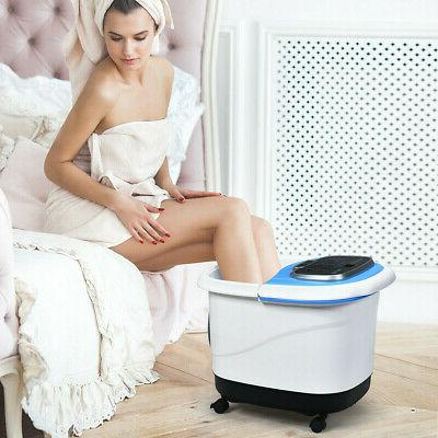 Foot Bath Motorized Portable Salon Tub w/ Shower NEW