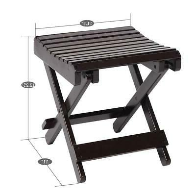 Hot Style Bath Shower Bench Chair Wood Foot Rest