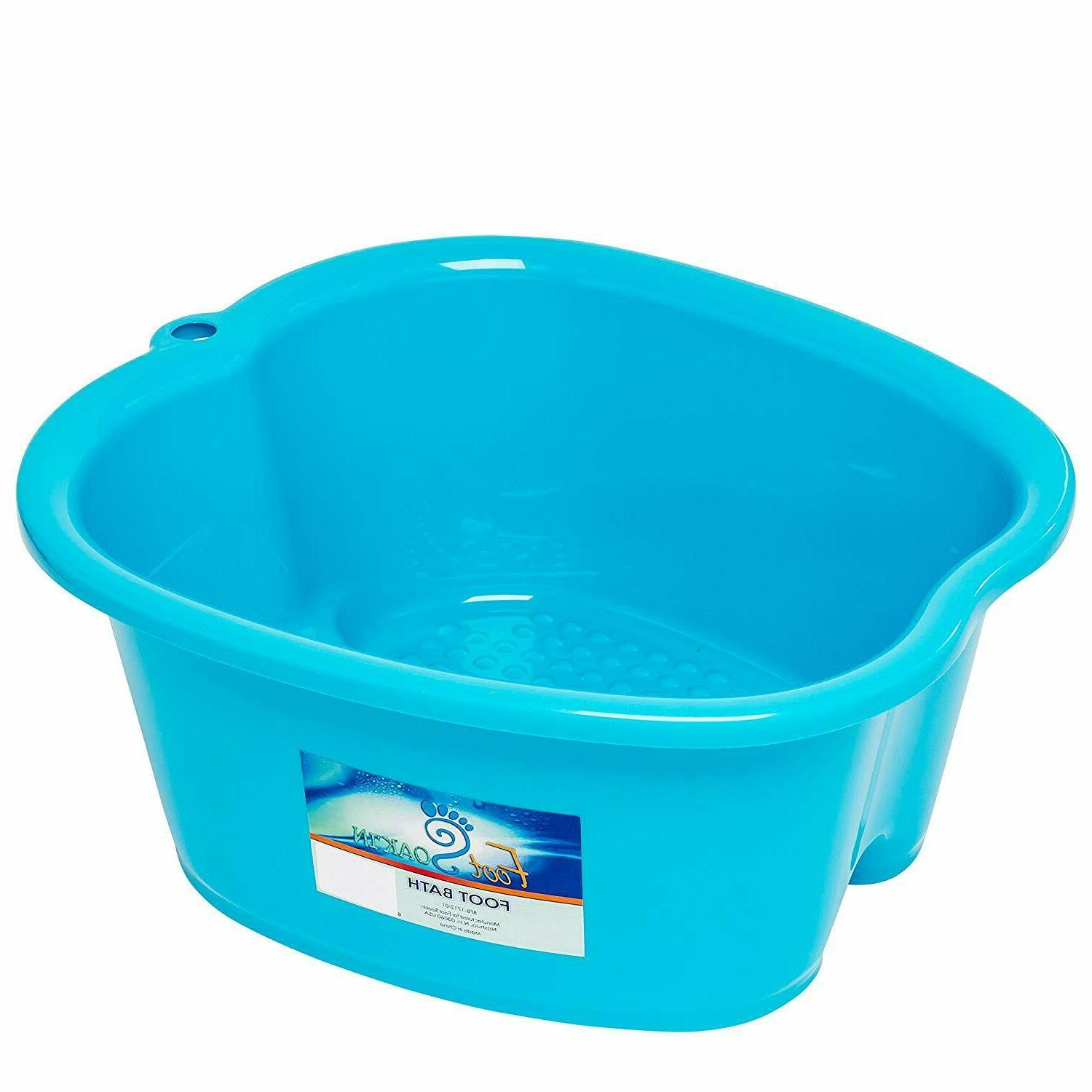 Large Foot Tub Thick Sturdy Basin for Pedicure Detox Massage