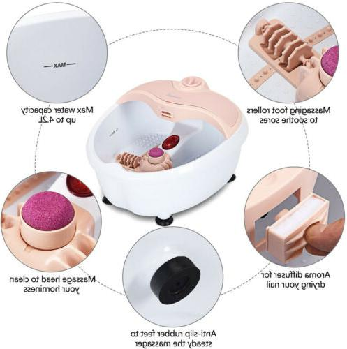 Portable Foot Bath Massager Soaker Vibration