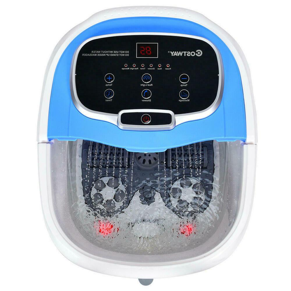 portable foot spa bath motorized massager by