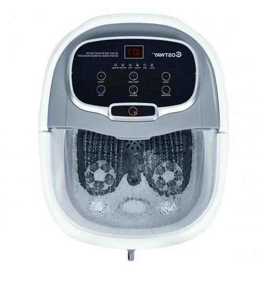portable foot spa bath motorized massager electric