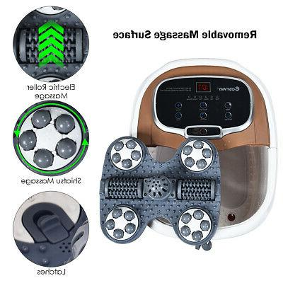 Portable Foot Spa Motorized Massager Feet Shower