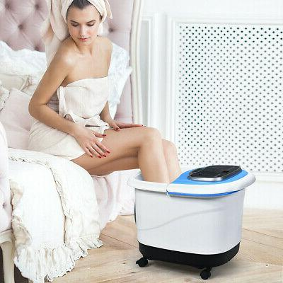 Portable Foot Spa Motorized Massager with Shower