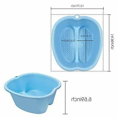 Portable Spa Soaking Basin With Relaxer