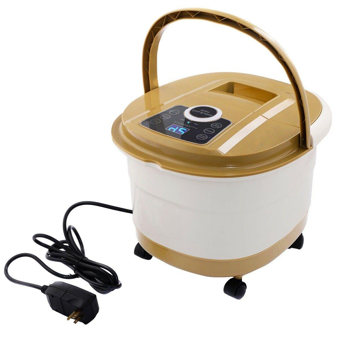 Portable Spa Bath Foot Therapy Display