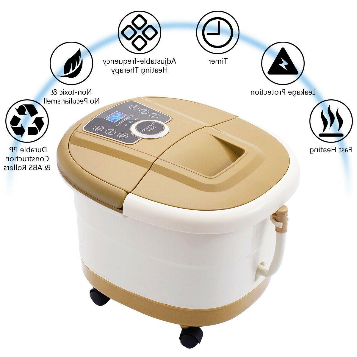 Portable Spa Ankle Home Therapy Machine LED Display