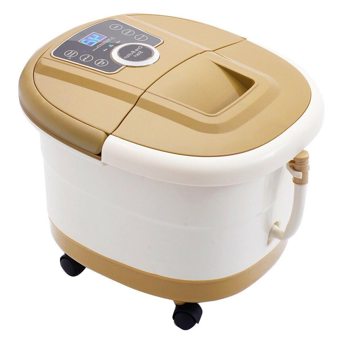 Portable Spa Bath Foot Ankle Therapy Display