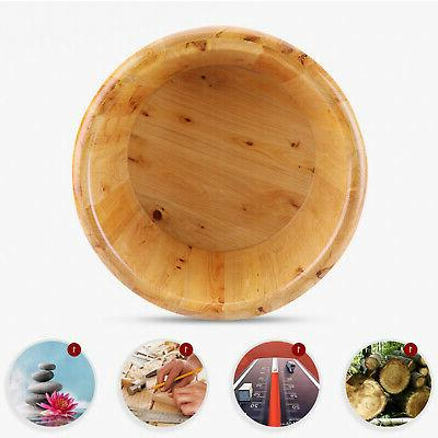 Thick Durable Wooden Basin Barrel for