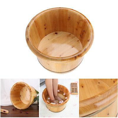 Thick Strong Durable Wooden Foot Barrel for