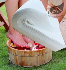 Nonwoven Fabric Towel for Outdoor Travel 28 * 58cm Foot Bath