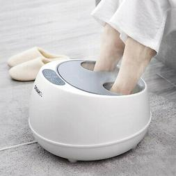 oFlexiSpa Steam Foot Spa Bath Massager with Electric Rollers
