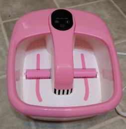 Costway Portable Electric Automatic Roller Foot Bath Massage