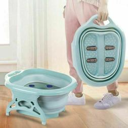 Portable Folding Travel Foot Spa Pedicure Thick Buckets Hot
