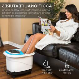 Best Choice Products Portable Foot Bath Heated Spa with Shia