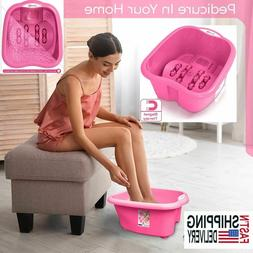 Portable Foot Spa Bath Massager Bucket Cold Hot Water Soaker