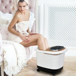 portable foot spa bath motorized massager home