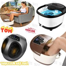 ACEVIVI Pro Foot Spa Bath/Shiatsu Massager Adjustable Temp/T