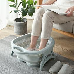 US Portable Travel Foot Spa Pedicure Thick Buckets Foldable