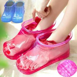Women Foot Soak Bath Therapy Massage Shoes Relaxation Ankle