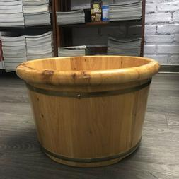 Wooden Pots, Handmade, Foot Bath In Water, Wash Face
